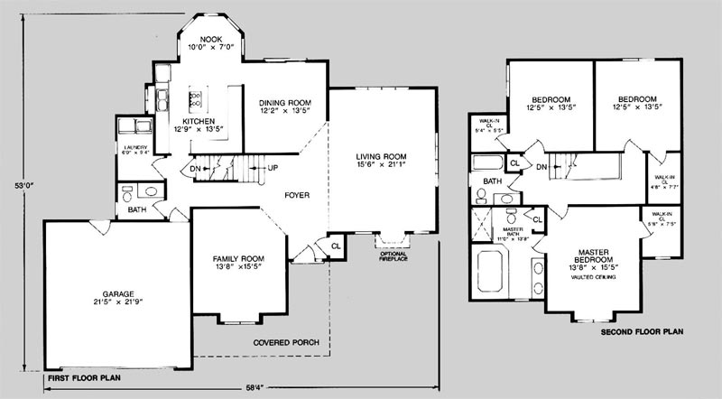 3000 Square Foot Two Story House Plans
